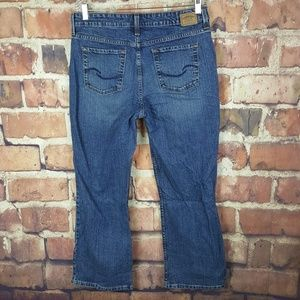 Levis Signature Womens Mid Rise Boot Cut Jeans 14S